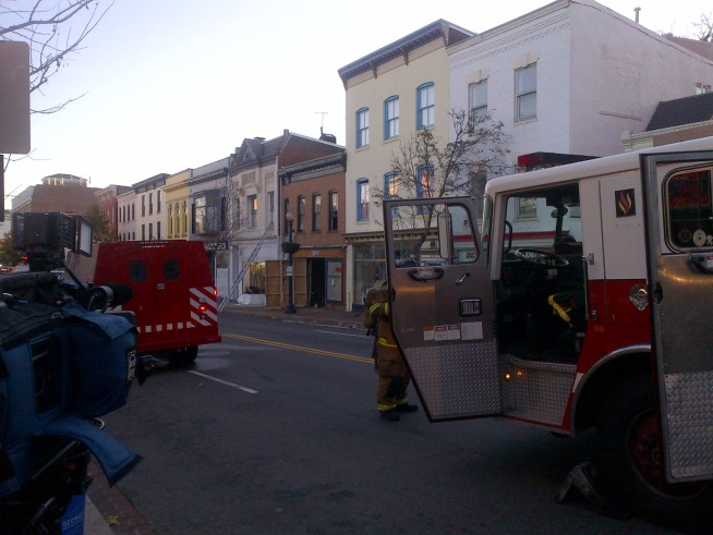 Gas Leak, Building Collapse in Georgetown
