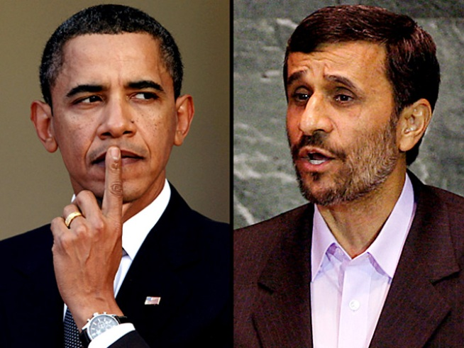 Russian TV Channel's Ad Compares Obama, Ahmadinejad