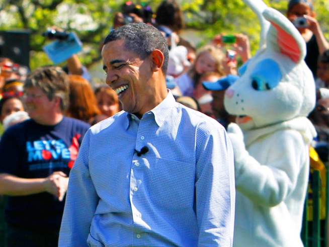 Obama Leads Egg Rolls at White House