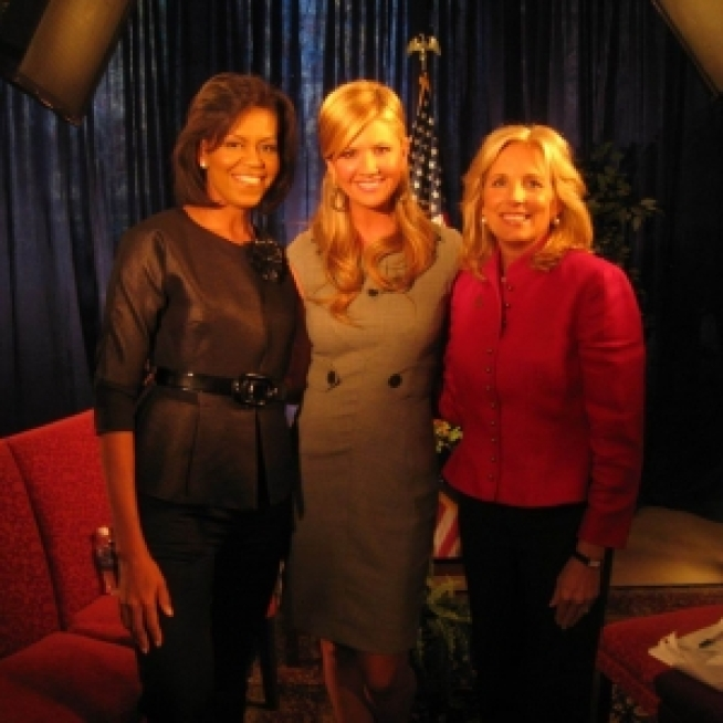 Access Exclusive: Michelle Obama & Jill Biden Talk Family, The Campaign Trail & The Jonas Brothers!