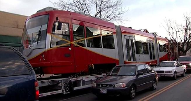 [DC] D.C.'s First Street Car Moves To H Street Tracks