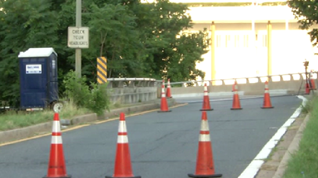 I-66W Ramp Reopens After Concrete Falls Onto Road