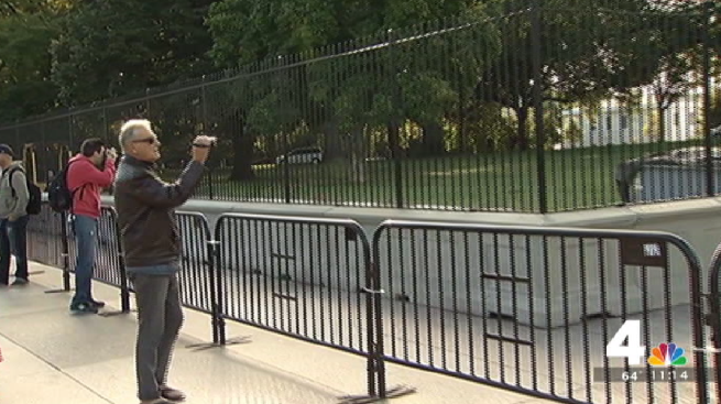 Stepped-Up Security Outside White House Includes Second Fence