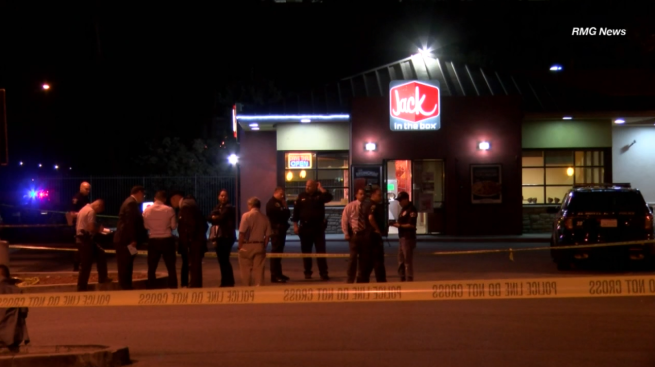 Halloween Mask Robber Kills Calif. Jack in the Box Worker