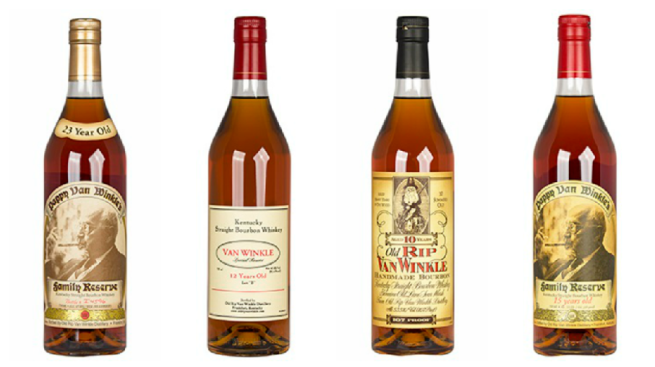 Virginia ABC Stores to Hold Pappy Van Winkle Bourbon Lottery