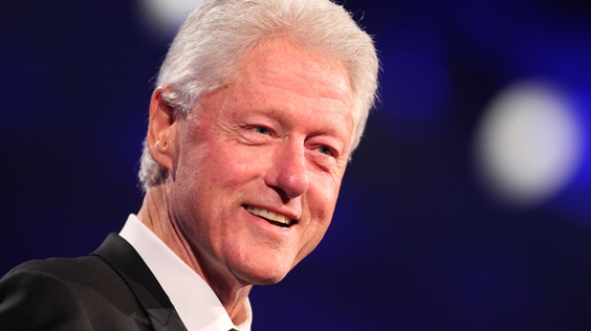 Bill Clinton Attends Fundraiser for Md. Lt. Gov.