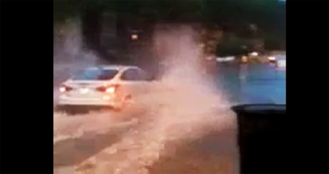[DC] VIEWER VIDEO: Rhode Island Avenue Flooding