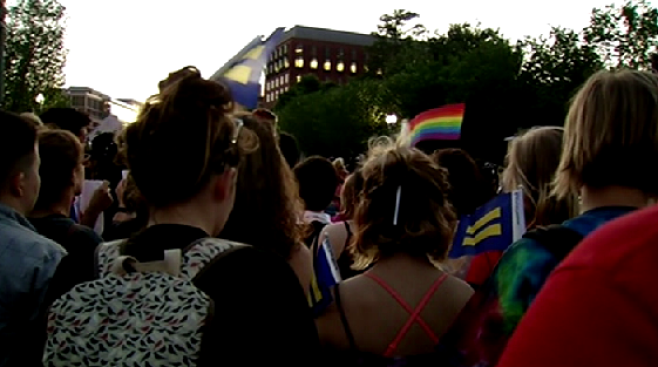 Capitol Pride Goers Mourn Victims of Orlando Shooting