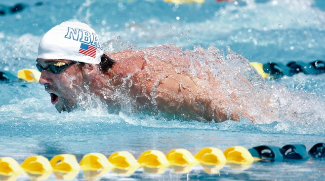 For Michael Phelps, There's No Place Like Home