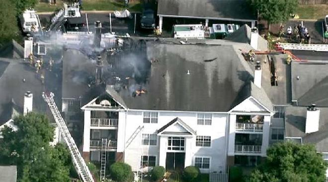One Resident Injured in Md. Apartment Fire
