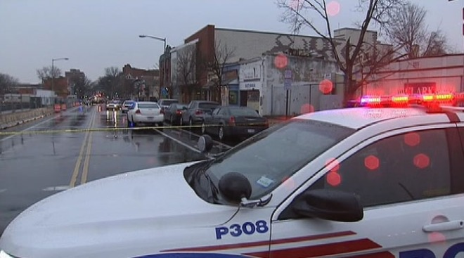 Man Shot on 7th Street in D.C.