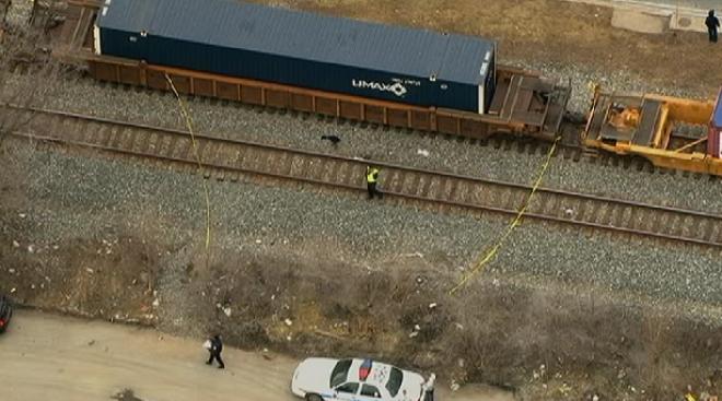 Woman Crossing Train Tracks Trips, Gets Struck By CSX Train