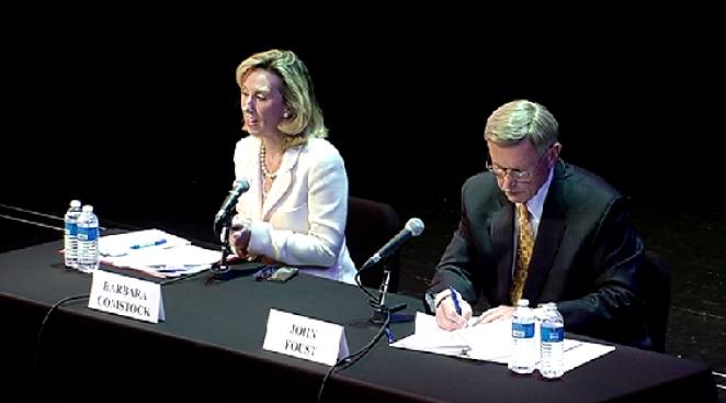Foust, Comstock Square Off in Congressional Debate