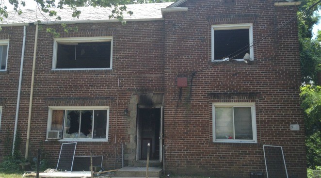 4 Families Displaced After Southeast Apartment Fire