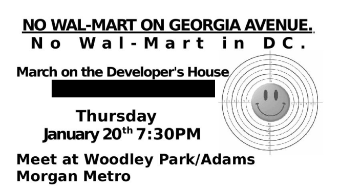 Who's Against Walmart in D.C.?