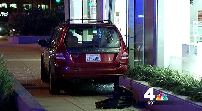Driver Crashes Into Tenleytown Container Store