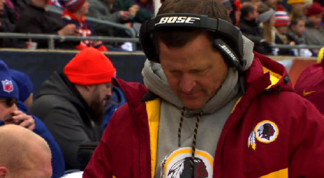 Redskins Let Go of Defensive Coordinator Joe Barry, 3 Other Assistants