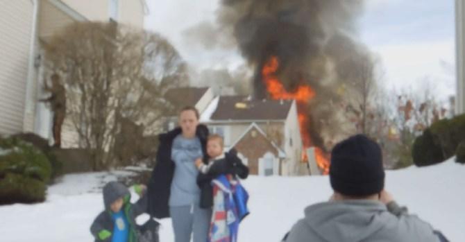 Explosion at NJ Housing Development