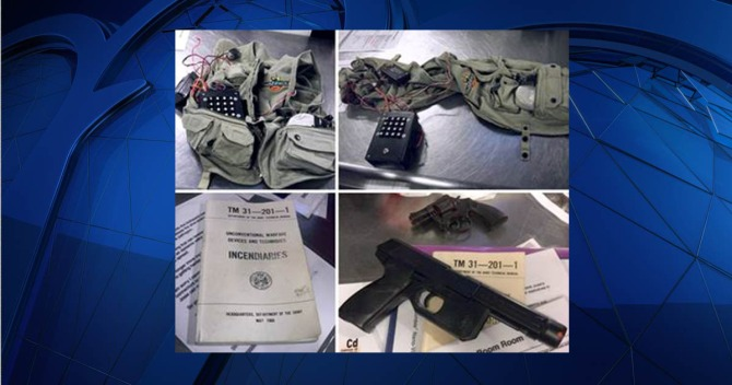 Role-Playing Weapon Props Cause Scare At Richmond Airport
