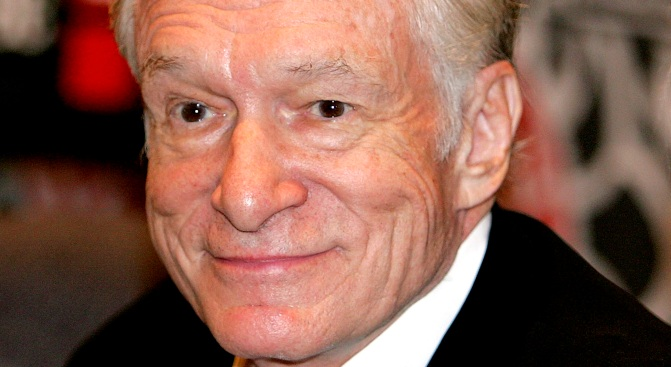 Hugh Hefner: Why I Saved The Hollywood Sign
