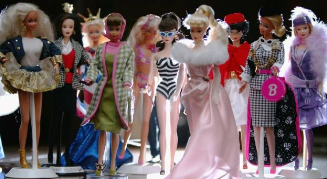 Two Words: Barbie. Convention.
