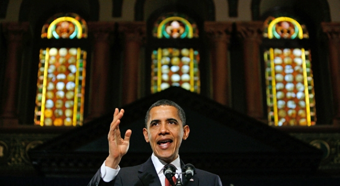 Jesus Missing From Obama's Georgetown Speech
