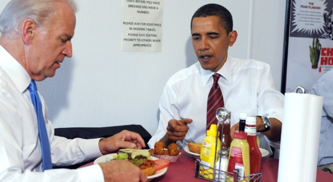 President's Hamburger Trip Captivates Nation