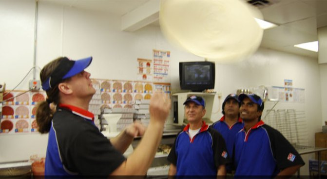 The World's Fastest Pizza Makers