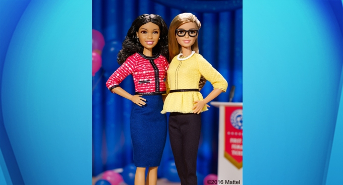 New President Barbie Has Female Running Mate
