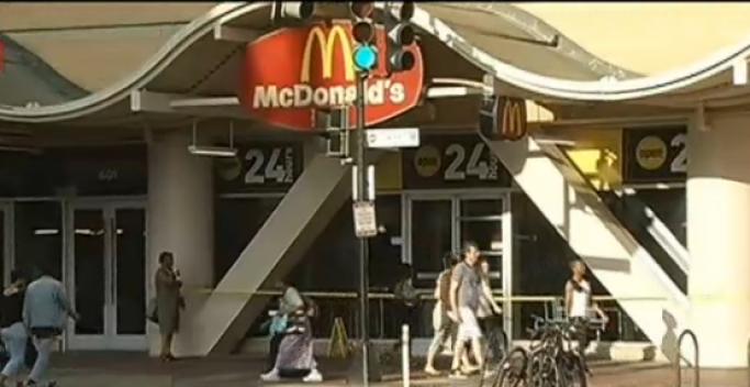 McDonald's Shooting Victim Still Critical; Two Sought