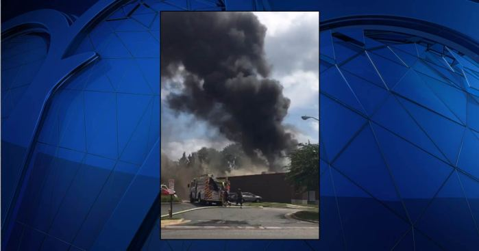 Fairfax County Strip Mall Evacuated as Firefighters Battle 3-Alarm Blaze