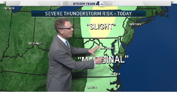 Storms Likely to Dampen Tuesday Evening Commute