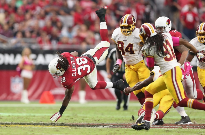 Images From Cardinals 30, Redskins 20