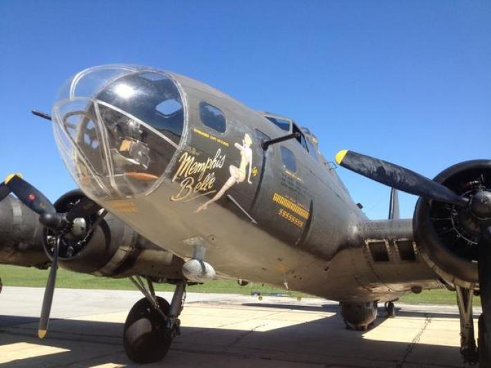 "Take a Flight With the ""Memphis Belle"""