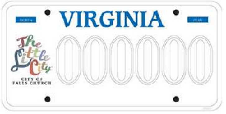 Show Your Falls Church Pride With New License Plates