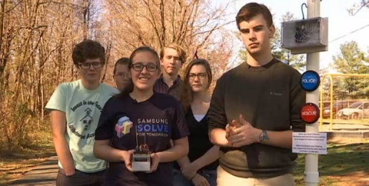 Virginia High School STEM Students Win Samsung Solve for Tomorrow Contest