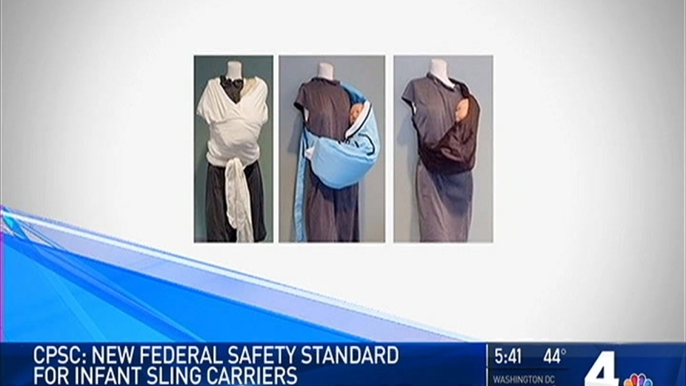 Goverment Sets New Standards for Baby Sling Carriers