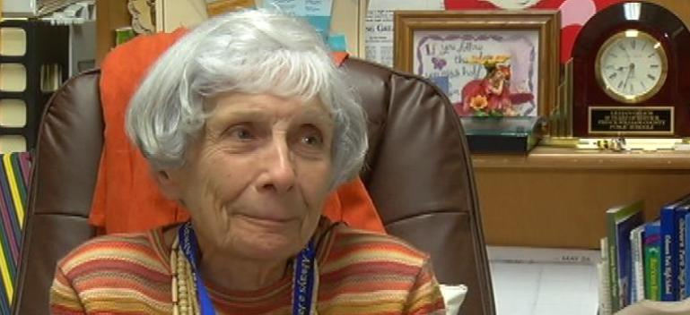 85-Year-Old Guidance Counselor Honored