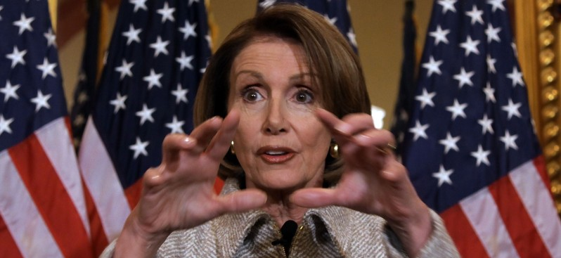 Nancy Pelosi Doesn't Fly Coach