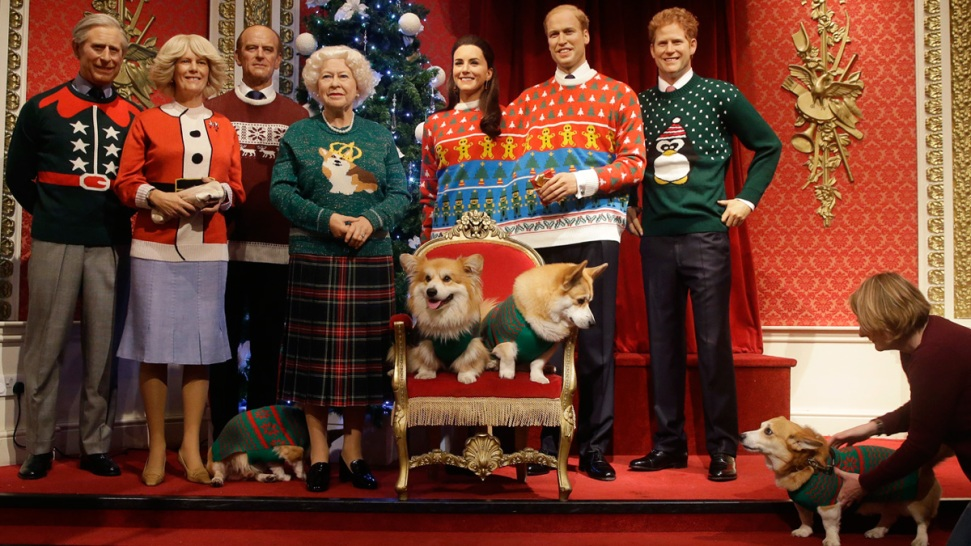 Royals, They're Just Like Us: 'Royal Family' Dons Ugly Christmas ...