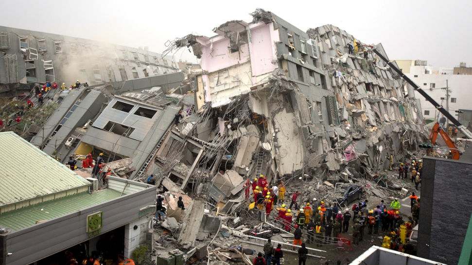 Over 100 Missing, 18 Dead As Strong Quake Rattles Taiwan