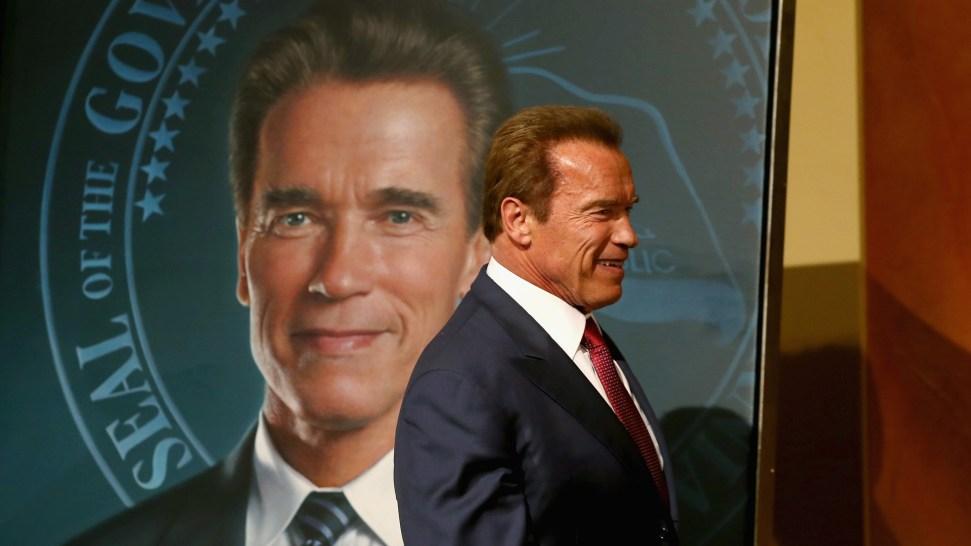 """Governator"" Portrait Unveiled: Schwarzenegger Gets His Close-Up"