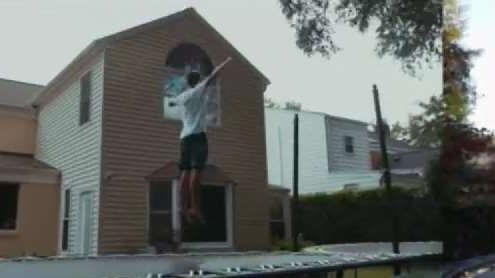 Bethesda Teen Gains Following Doing Trampoline Tricks | NBC Washington