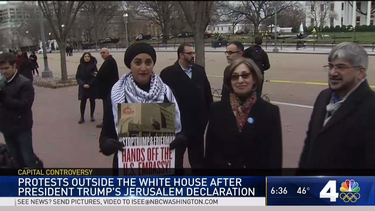 Jews, Muslims in DC Area React to Jerusalem Declaration