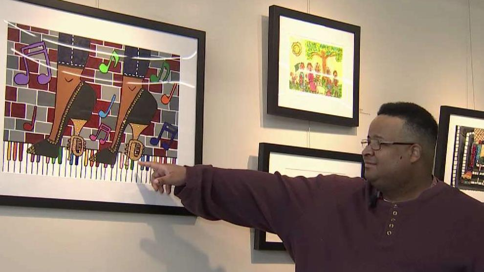 DC Gallery Gives Platform to Artists With Disabilities