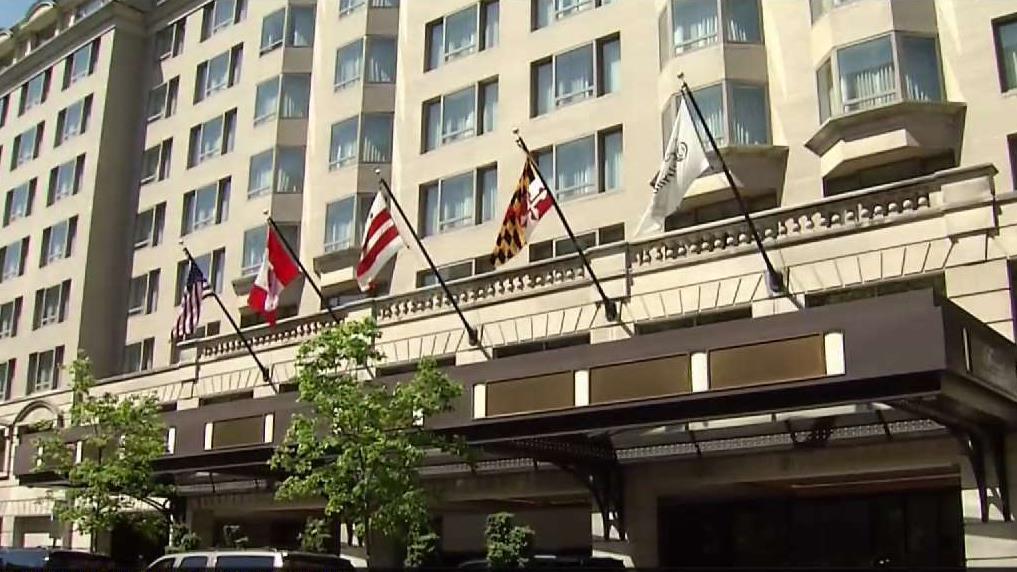 292f9118fb3 Fairmont Hotel Prepares Royal Garden Party for Royal Wedding - NBC4  Washington