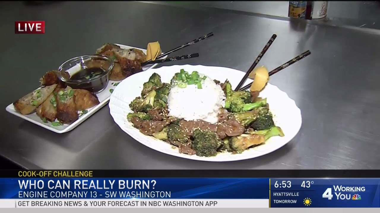 Firefighter Cook-Off Week: DC Throws Down After Challenge