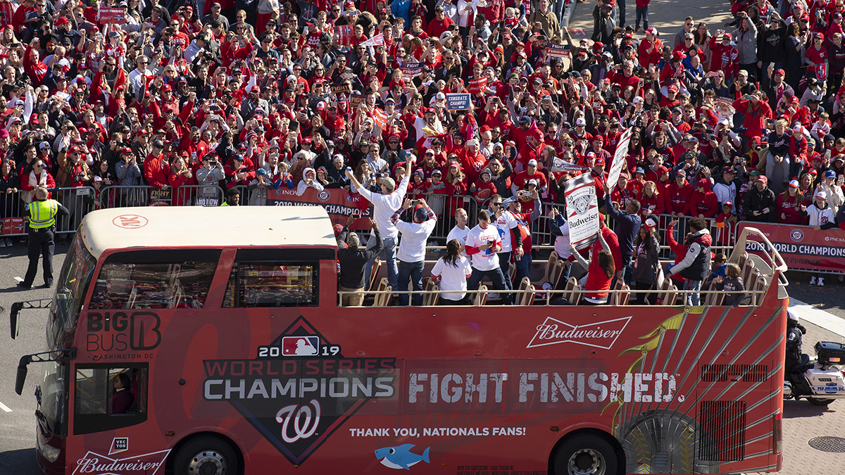 Documentary on Nats' World Series Victory Premieres Monday