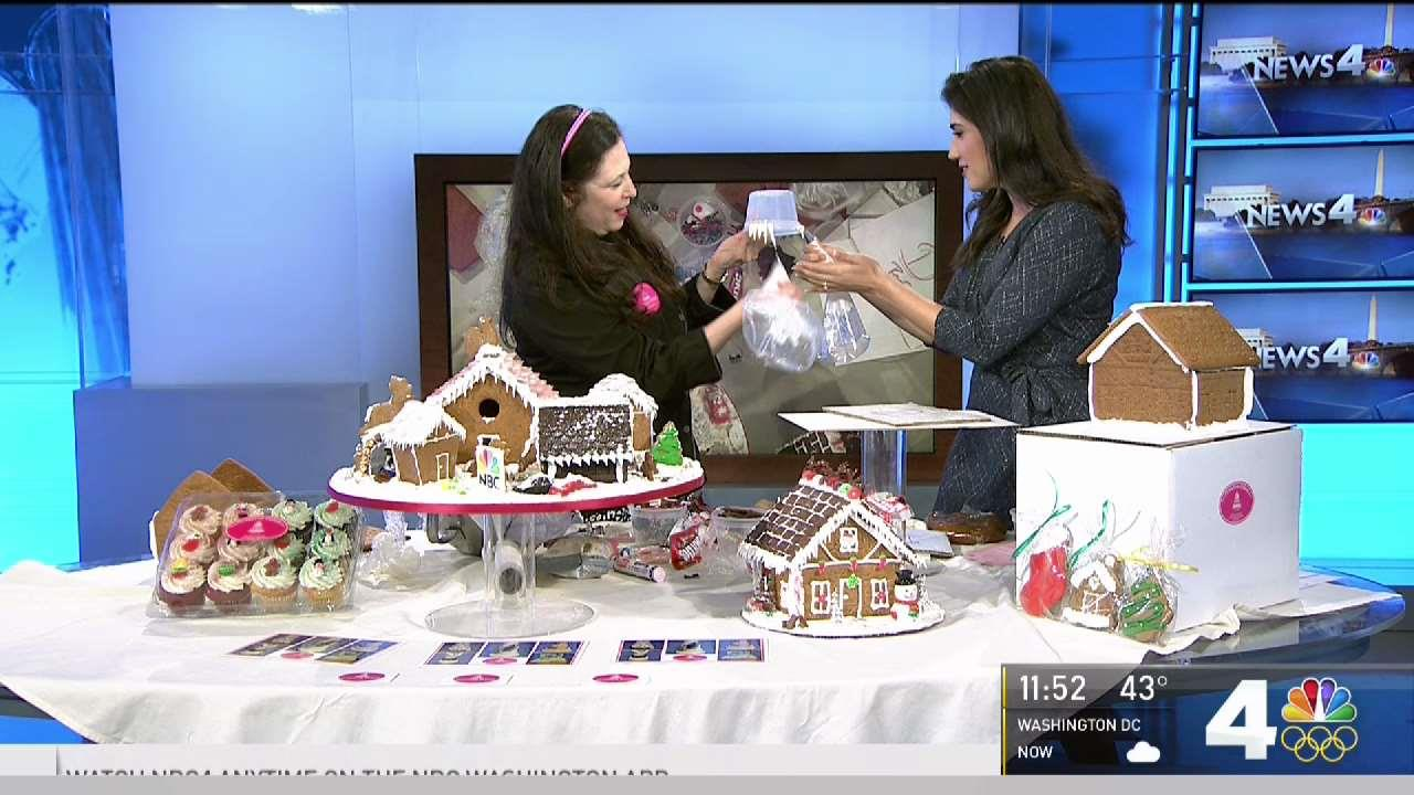 Gingerbread Houses Make Your Own Winter Wonderland
