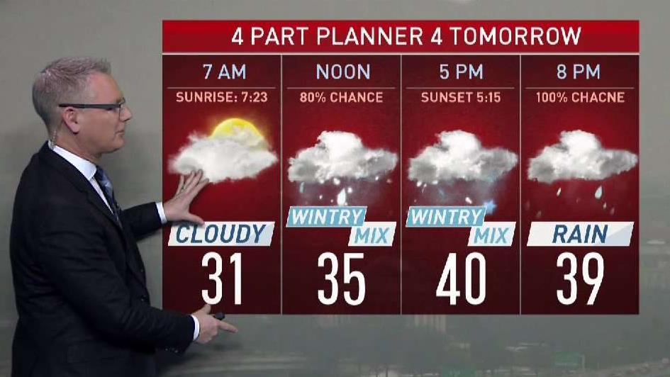Your Friday Afternoon Forecast: Wet, Then Cold Weekend | NBC Washington